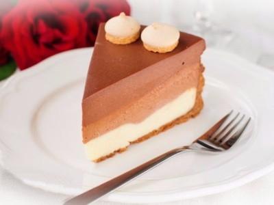 бисквит с кондитерским шоколадом рецепт фото
